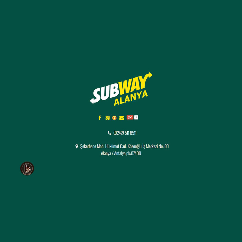 Subway Alanya